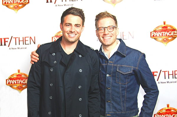 Jonathan Bennett and Barrett Foa