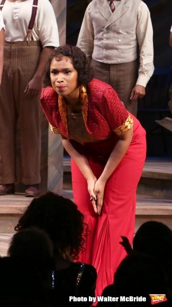 Photo Coverage: Cynthia Erivo, Jennifer Hudson & THE COLOR PURPLE Cast Take Opening Night Bows