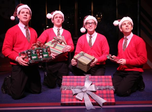 Ciaran McCarthy as Jinx, Bradley Beahen as Frankie, John-Michael Zuerlein as Smudge, and Jose Luaces as Sparky