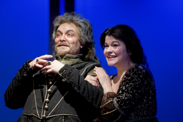 Guy Roberts and Bree Welch as Sir Toby Belch and Maria Photo