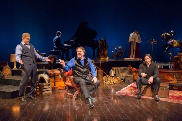 Marc Kudsich, Mark Delavan and Nathan Gunn