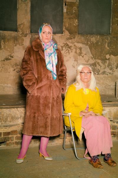 Jenna Russell and Sheila Hancock