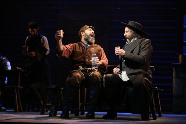 George Psomas, Danny Burstein and Adam Dannheisser