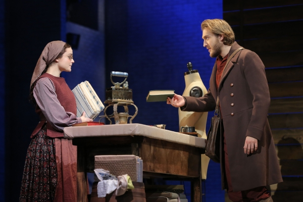 Fiddler on the Roof Production Photo - Melanie Moore and Nick Rehberger