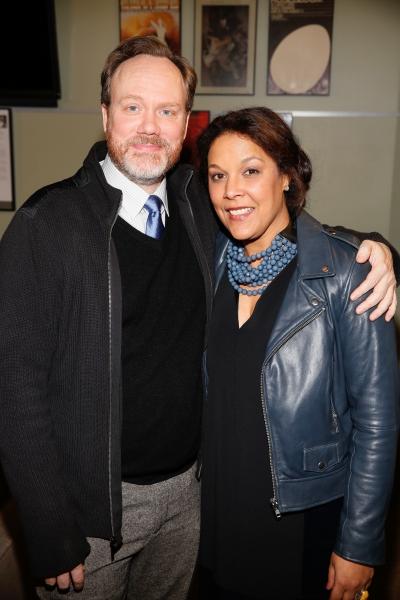 Andrew Garman and Linda Powell