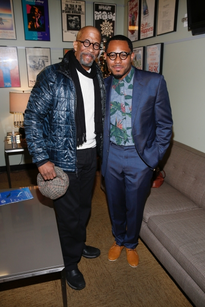 Reg E. Cathey and Larry Powell