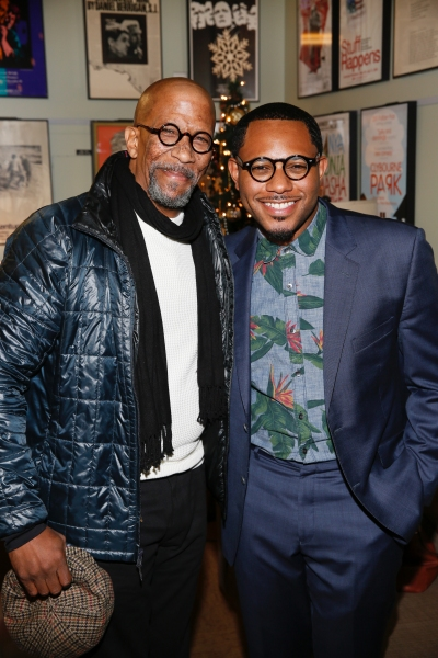 Actor Reg E. Cathey and cast member Larry Powell