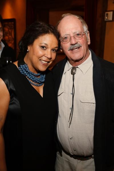 Linda Powell and Philip Kerr