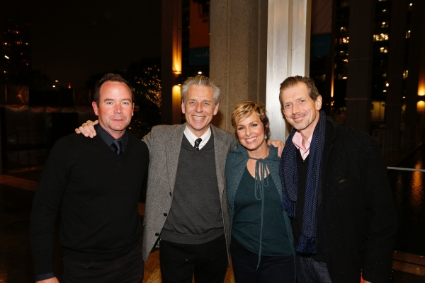 CTG Associate Artistic  Kelley Kirkpatrick, CTG Artistic  Michael Ritchie and  actors Melora Hardin and Gildart Jackson