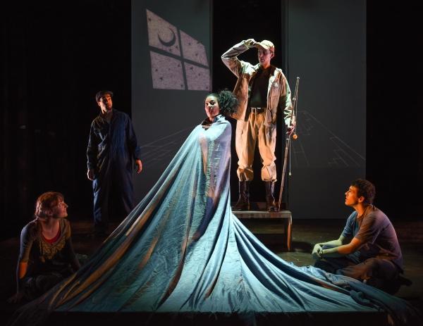 Clare O''Malley (as Gretel), Alan Brincks (as Father), Anita Holland (as The Flounder Photo