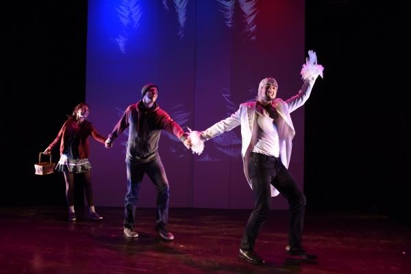 Clare O''Malley (as Gretel), Sean Bradley (as Hansel), Alan Brincks (as The Snowbird) Photo