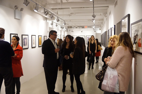 Photo Flash: 'World on Fire' The Peace Angels Project Exhibition Opens at Studio Vendome