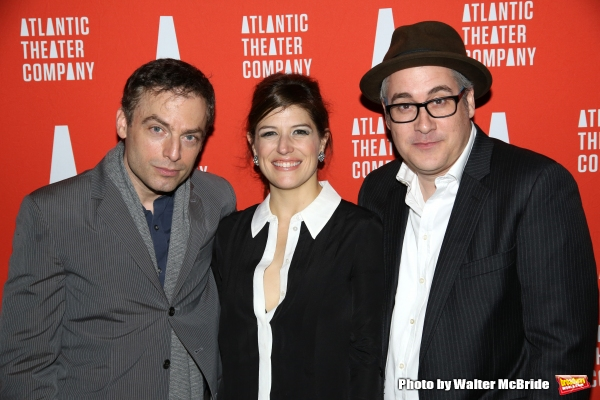 Justin Kirk, Nicole Parker and Rolin Jones  Photo