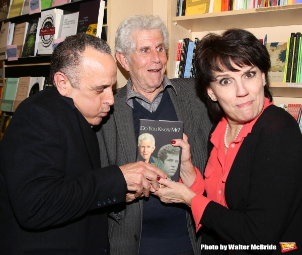 Adam Heller, Tony Roberts and Beth Leavel