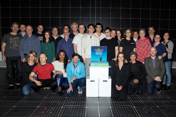 Photo Coverage: THE CURIOUS INCIDENT OF THE DOG IN THE NIGHT-TIME Celebrates 500 Performances!