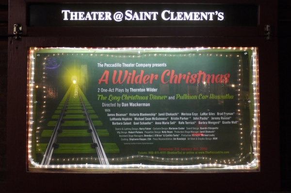 Photo Flash: Inside Opening Night of A WILDER CHRISTMAS Off-Broadway