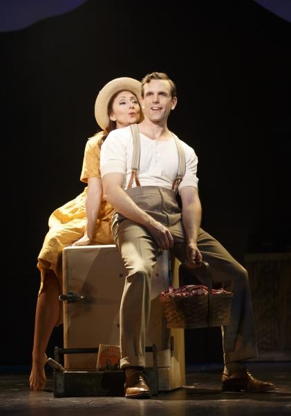 Carmen Cusack and Paul Alexander Nolan