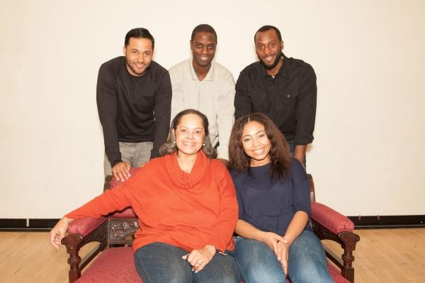 Front: Lynda Gravatt, Nikiya Mathis; Back: Jason Dirden, Adesola Osakalumi, Wendell B. Franklin