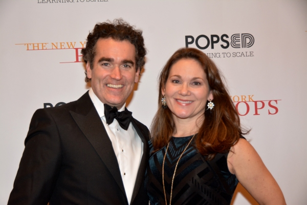 Photo Coverage: Stars Bring Holiday Cheer Backstage at New York Pops Carnegie Hall Concert