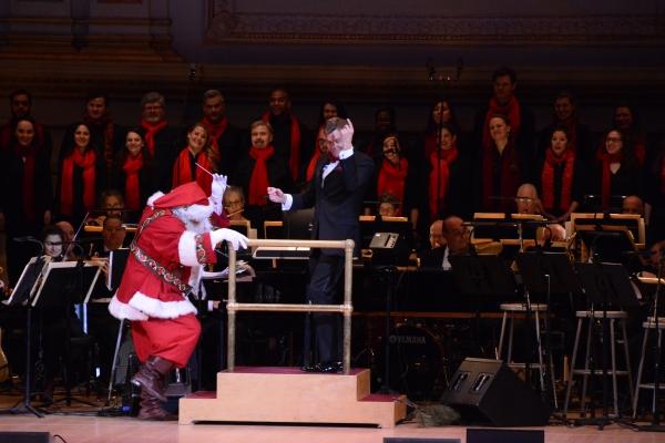 Santa Claus and Steven Reineke