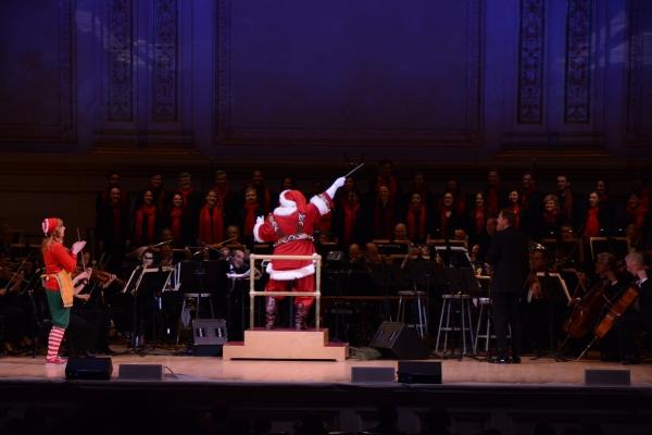 Sprinkles, Santa Claus and Steven Reineke