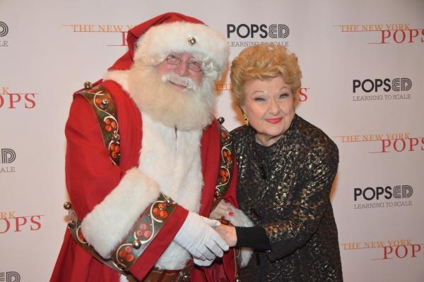 Marilyn Maye and Santa Claus