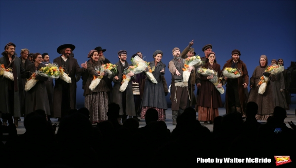 Photo Coverage: It's Back! FIDDLER ON THE ROOF Cast Takes Opening Night Bows