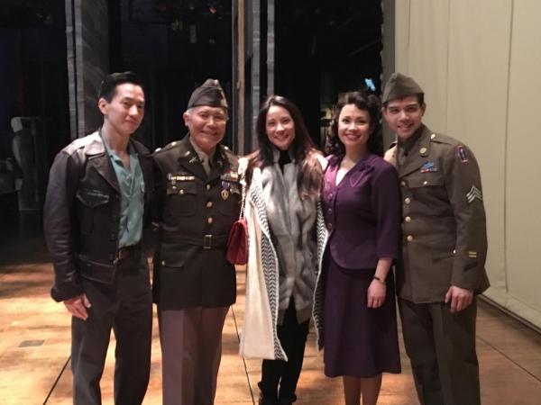 Michael K. Lee, George Takei, Lea Salonga and Telly Leung