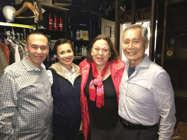 Gilbert Gottfried, Lea Salonga, George Takei