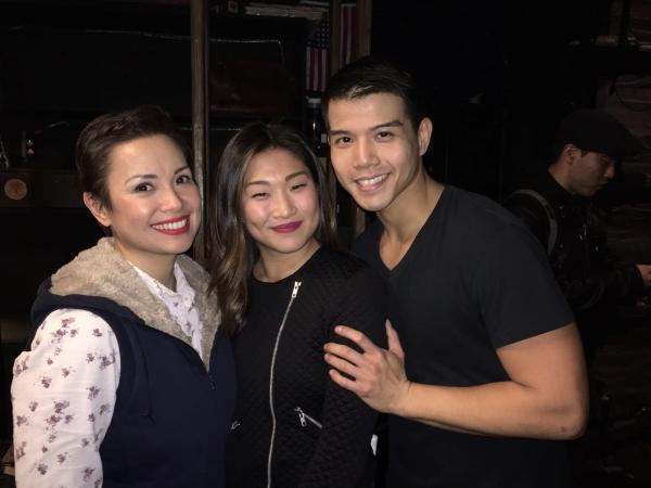 Lea Salonga, Jenna Ushkowitz, Telly Leung