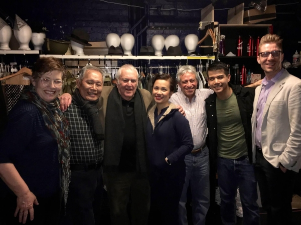 Photo Flash: John Kander, Lucy Liu & More Celebs Turn Out for ALLEGIANCE on Broadway