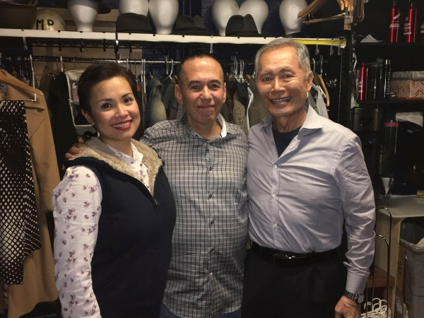 Lea Salonga, Gilbert Gottfried, George Takei