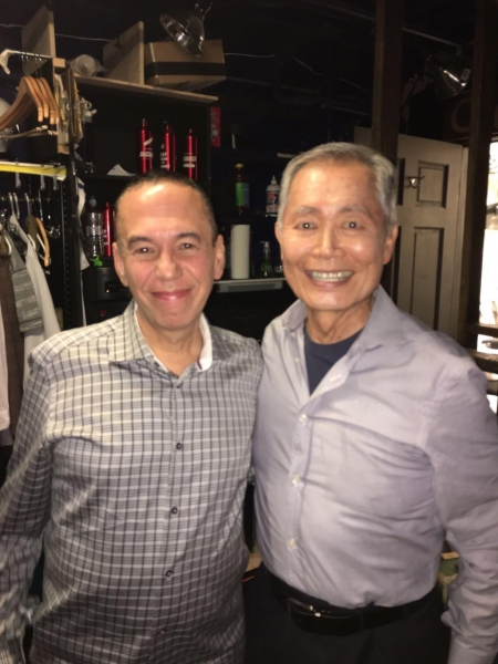 Gilbert Gottfried, George Takei