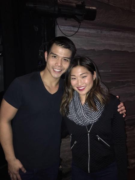 Telly Leung, Jenna Ushkowitz