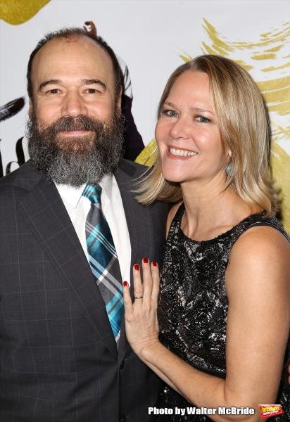 Danny Burnstein and Rebecca Luker