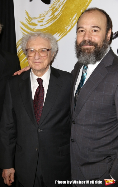 Sheldon Harnick and Danny Burstein