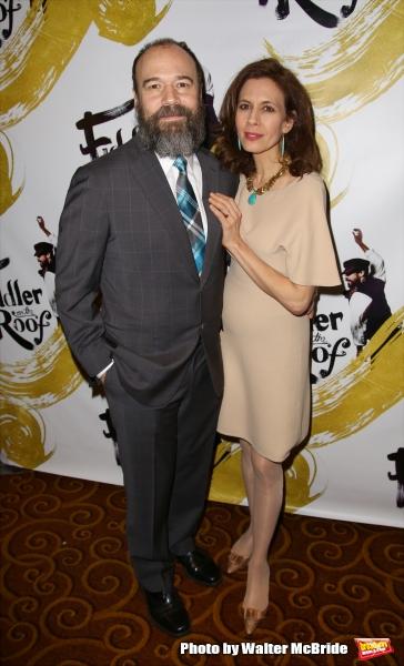 Danny Burnstein and Jessica Hecht