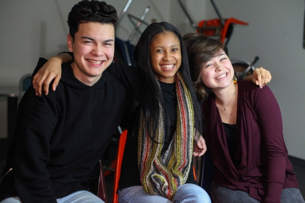 Brian Hayes, Myka Buck and Keauna Pierce Photo