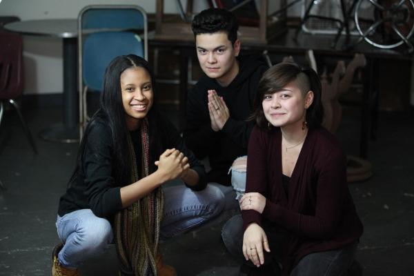 Myka Buck, Brian Hayes and Keauna Pierce Photo
