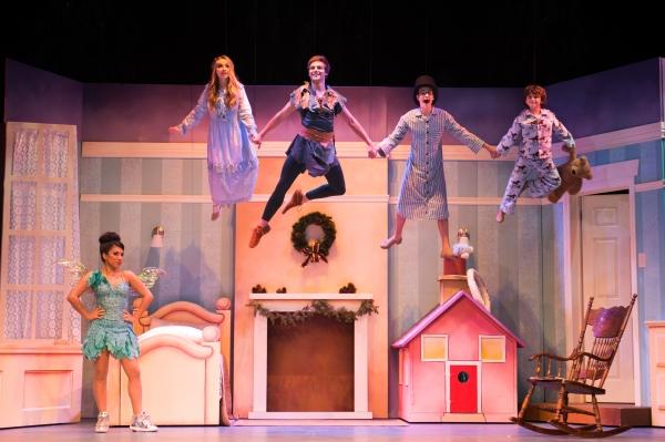 Photo Flash: First Look at John O'Hurley, Kevin Quinn, Sabrina Carpenter and More in 'PETER PAN AND TINKER BELL' at Pasadena Playhouse