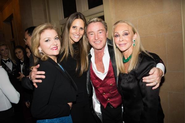 Niamh Flatley, Stephanie Winston-Wolkoff, Michael Flatley and Barbara Winston Photo