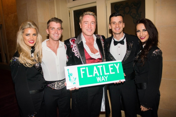 Niamh Flatley, Stephanie Winston-Wolkoff, Michael Flatley and Barbara Winston