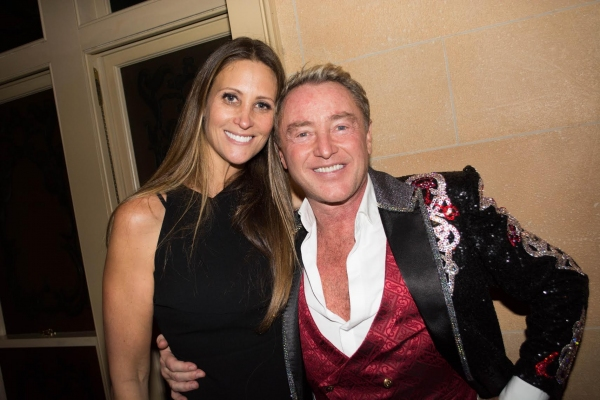 Stephanie Winston-Wolkoff and Michael Flatley