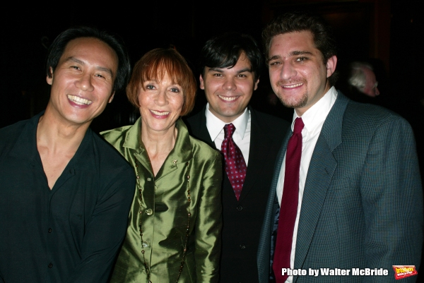 B.D. Wong, Patricia Elliott, Robert Lopez and Jeff Marx Attend the Broadway Theater Institute 2003 Awards for Excellence held at The Players Club on Gramercy Park in New York City.September 15, 2003
