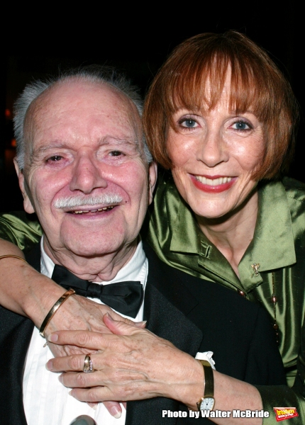 Patricia Elliott and John Willis attend the Broadway Theater Institute 2003 Awards fo Photo
