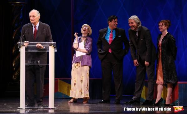 Alan Alda, Patricia Elliott, Dale Badway, Corey Brunish, Brisa Trinchero during the 6 Photo