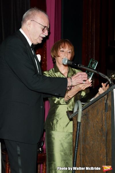 John Willis - editor of Theatre World and Patricia Elliott( Lifetime Achievement )Att Photo