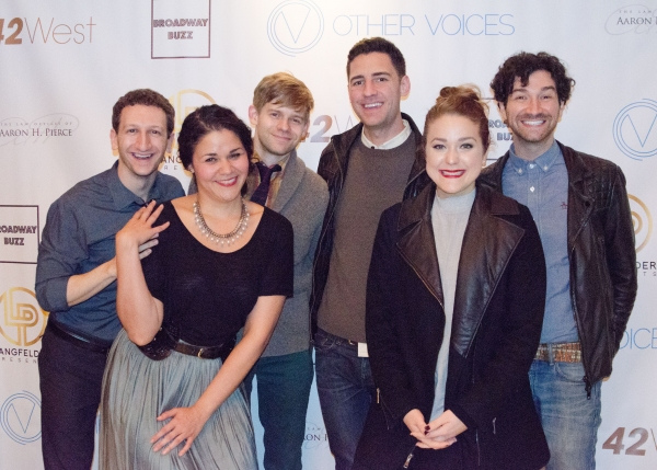 Photo Flash: Lisa Lampanelli Headlines Other Voices' BROADWAY HOLIDAY at 42West