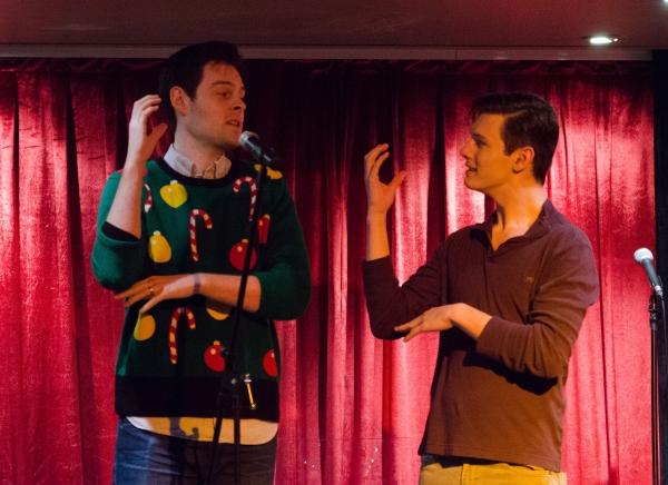 Josh Castille and Evan Alexander Smith