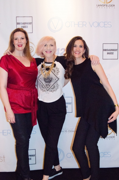 Kim Weild, Lisa Lampanelli and Jill Bernard